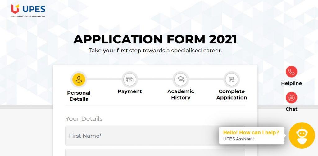UPESEA-application-form-2021