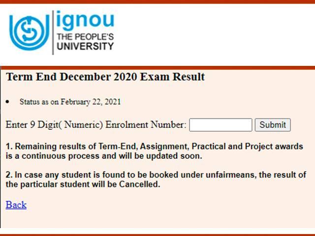 IGNOU-result-2021