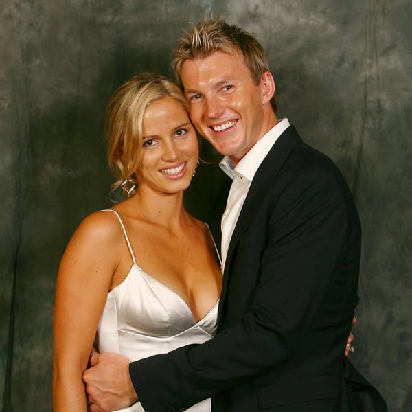 Brett Lee's ex-wife