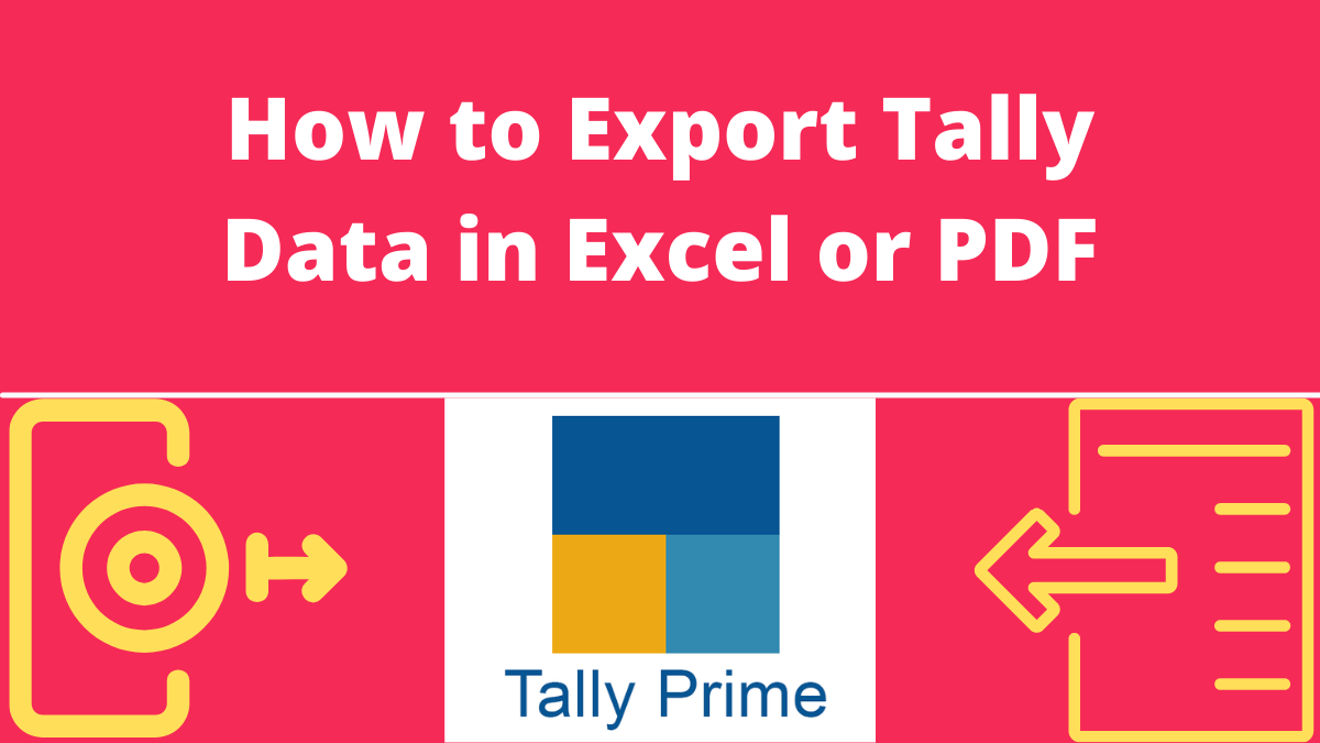 How to Export Tally Data in Excel