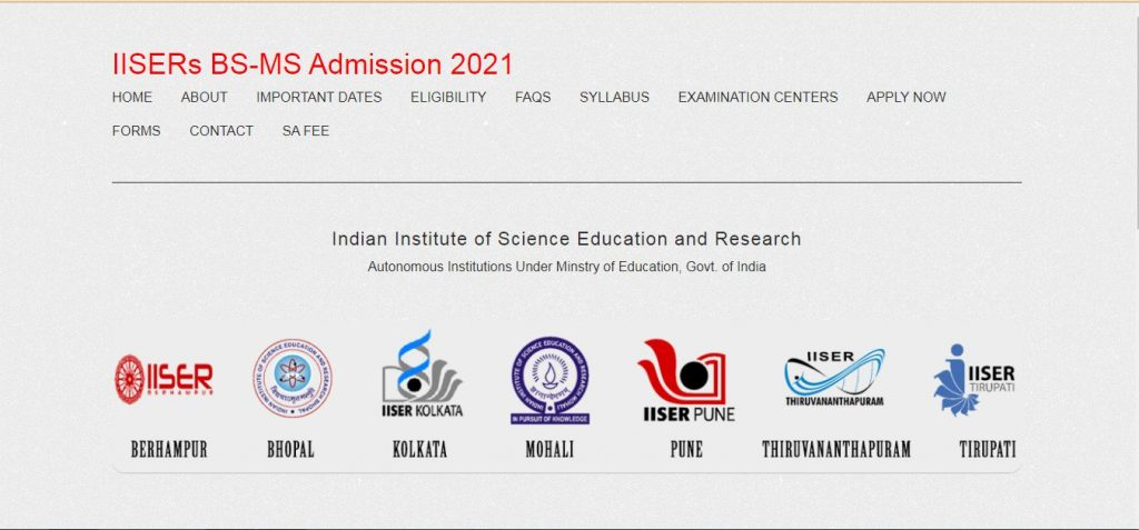 IISER-Results