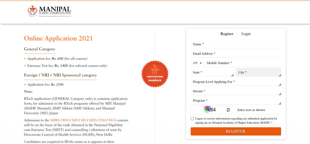 Manipal-application-form