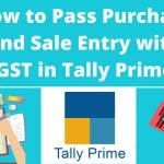 Purchase and Sale Entry with GST