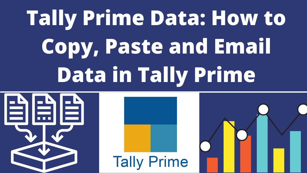 Tally Prime Data