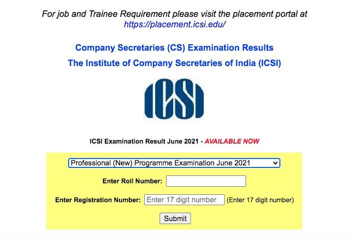CS Professional Result August 2021