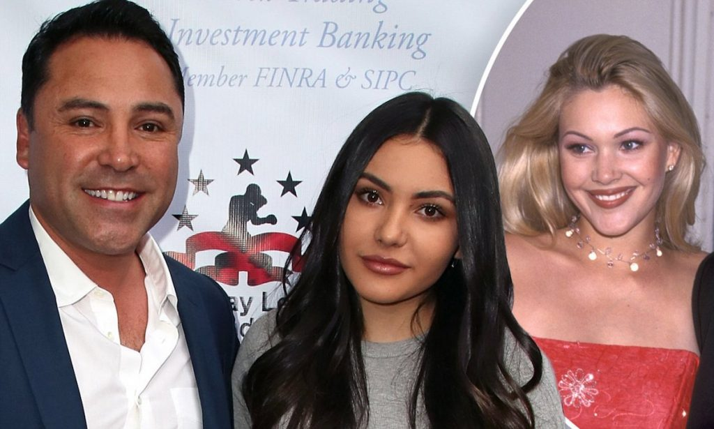 Daily Mail Oscar De La Hoya takes daughter to charity event