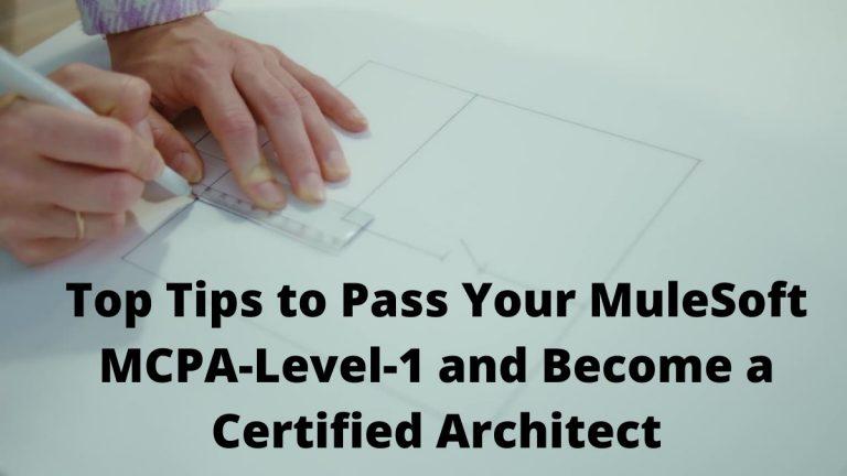 MuleSoft MCPA-Level-1
