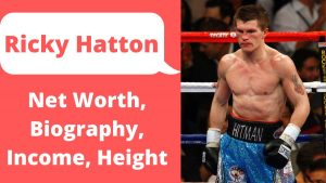 Ricky Hatton Net Worth