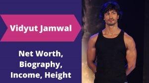 Vidyut Jamwal Net Worth